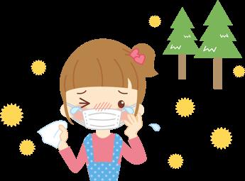 花粉症のこんな症状に悩まされていませんか?