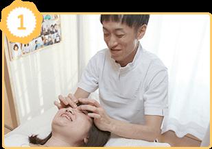 アレルギー体質改善の施術例1