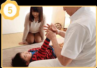 アレルギー体質改善の施術例5