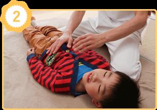 アトピー性喘息体質改善の施術例2