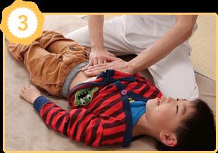 アトピー性喘息体質改善の施術例3