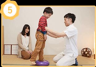 アトピー性喘息体質改善の施術例5